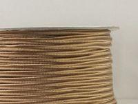 Sutasz chiński kawowy 3.2 mm - szpulka 50 m