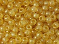 TOHO Round 6o-Y618 HYBRID Sueded Gold Topaz - 10 g