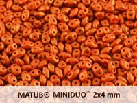 miniDUO 2x4mm Gold Shine Orange - 50 g