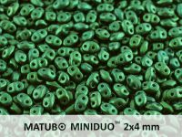 miniDUO 2x4mm Gold Shine Dark Green - 5 g