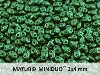 miniDUO 2x4mm Gold Shine Dark Green - 50 g