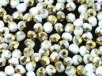 FP 4mm Gold 1/2 White - 40 sztuk