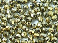 FP 4mm Yellow Gold - Crystal - 50 g