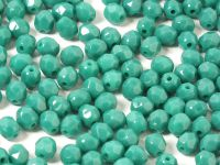 FP 4mm Opaque Persian Turquoise - 40 sztuk