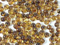 Mushroom Beads Crystal Travertin 6x5mm - 10 g