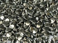 Pinch Beads Chrome 5x3 mm - 50 g