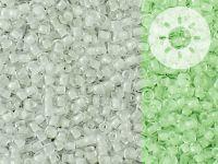TOHO Round 11o-2710 Glow In The Dark - White - Bright Green - 10 g
