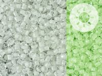 TOHO Round 8o-2710 Glow In The Dark - White - Bright Green - 10 g