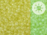 TOHO Round 8o-2721 Glow In The Dark - Yellow - Bright Green - 10 g