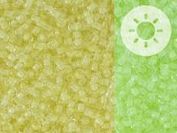 TOHO Round 11o-2721 Glow In The Dark - Yellow - Bright Green - 10 g