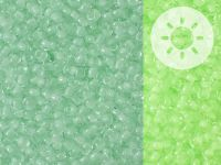 TOHO Round 11o-2722 Glow In The Dark - Mint Green - Bright Green - 10 g