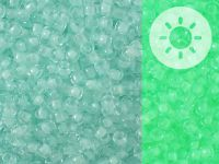 TOHO Round 8o-2723 Glow In The Dark - Baby Blue - Bright Green - 10 g