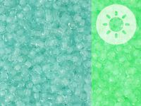 TOHO Round 11o-2723 Glow In The Dark - Baby Blue - Bright Green - 10 g