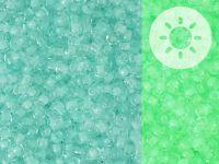 TOHO Round 11o-2723 Glow In The Dark - Baby Blue - Bright Green - 10 g