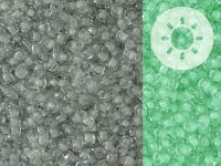 TOHO Round 11o-2725 Glow In The Dark - Grey - Bright Green - 10 g