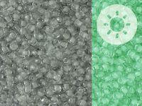 TOHO Round 11o-2725 Glow In The Dark - Grey - Bright Green - 10 g