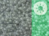 TOHO Round 8o-2725 Glow In The Dark - Grey - Bright Green - 10 g