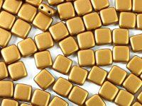 Tile 6mm Matte Metallic Brass Gold - 20 sztuk