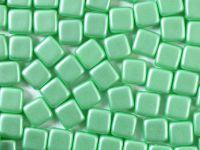 Squares 6mm Pastel Lt Green - 20 sztuk