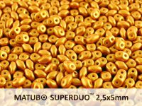 SuperDuo 2.5x5mm Gold Shine Yellow Sun - 10 g