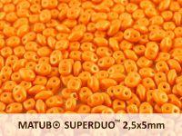 SuperDuo 2.5x5mm Gold Shine Minium - 10 g