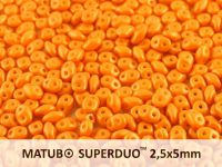 SuperDuo 2.5x5mm Gold Shine Minium - 100 g