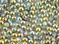 Round Beads Crystal Golden Rainbow 4 mm - opakowanie