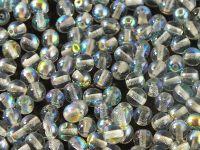 Round Beads Crystal Blue Rainbow 4 mm - opakowanie