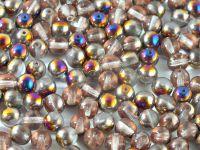 Round Beads Crystal Sliperit 6 mm - 20 sztuk