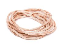 Sznurek jedwabny Habotai Light Pink 3 mm - 110 cm
