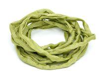Sznurek jedwabny Habotai Jade Green 3 mm - 110 cm