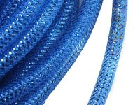 Siatka jubilerska niebieska metaliczna 8 mm - 1 metr