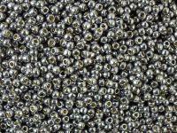 TOHO Round 11o-PF568 Permanent Finish - Galvanized Gunmetal Gray - 250 g