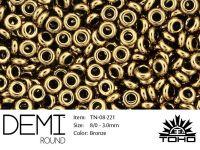 TOHO Demi Round 8o-221 Bronze - 5 g