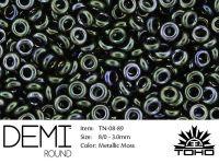 TOHO Demi Round 8o-89 Metallic Moss - 5 g