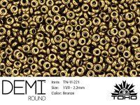 TOHO Demi Round 11o-221 Bronze - 5 g