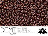 TOHO Demi Round 11o-222 Dark Bronze - 5 g