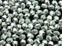 FP Bicone Matte Metallic Aluminium 5 mm - 20 sztuk