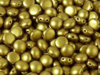 Candy 8mm Matte Metallic Aztec Gold - 10 sztuk