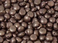 Candy 8mm Matte Luster - Metallic Bronze Violet - 10 sztuk