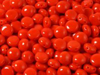 Candy 8mm Opaque Light Red - 10 sztuk