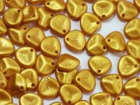 Rose Petals Gold Shine Yellow Sun 8x7 mm - 10 sztuk