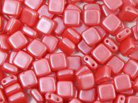 Tile 6mm Pearl Shine Rose - 20 sztuk