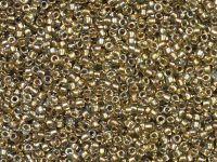 TOHO Round 15o-998 Gold-Lined Rainbow Lt Jonquil - 5 g