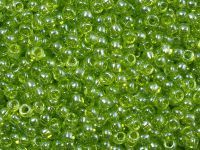 TOHO Round 8o-105 Trans-Lustered Lime Green - 10 g