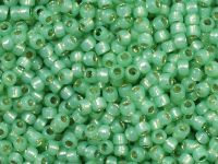 TOHO Round 8o-2103 Silver-Lined Milky Lime Green - 10 g