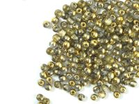 Round Beads Gold 1/2 3 mm - opakowanie