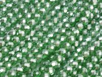 FP 4mm Green Emerald Frosted Pearl - 40 sztuk