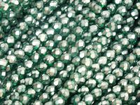FP 4mm Emerald Frosted Pearl - 40 sztuk