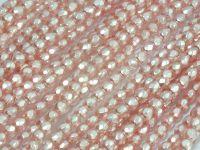 FP 3mm Rosaline Frosted Pearl - 40 sztuk
